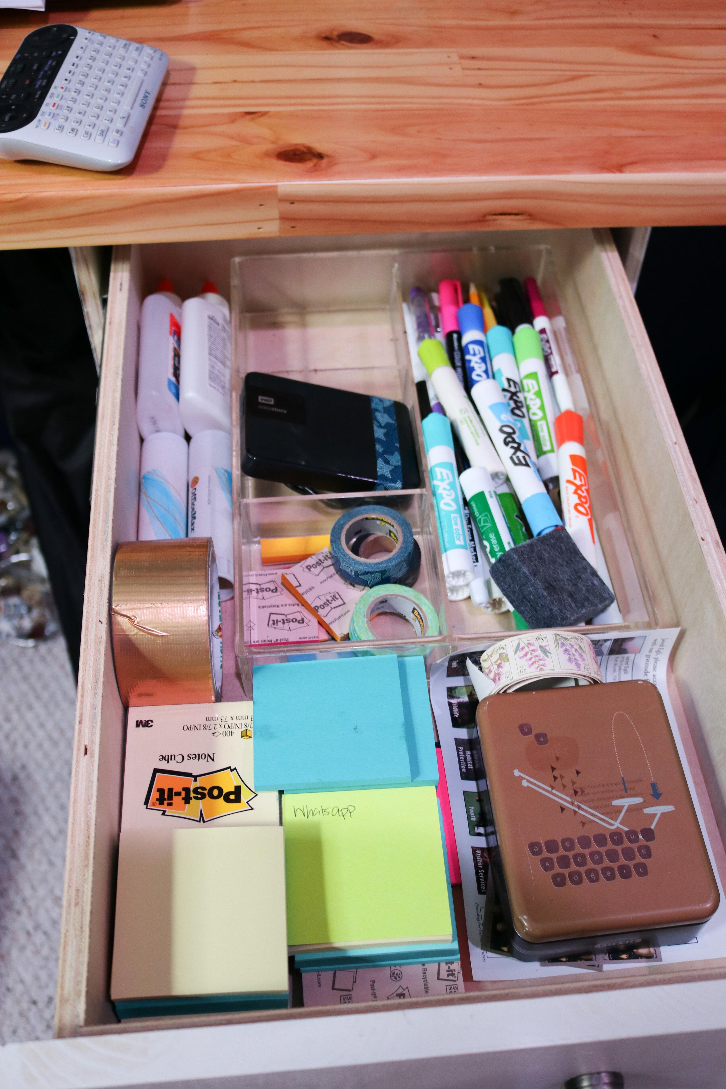 So organized!