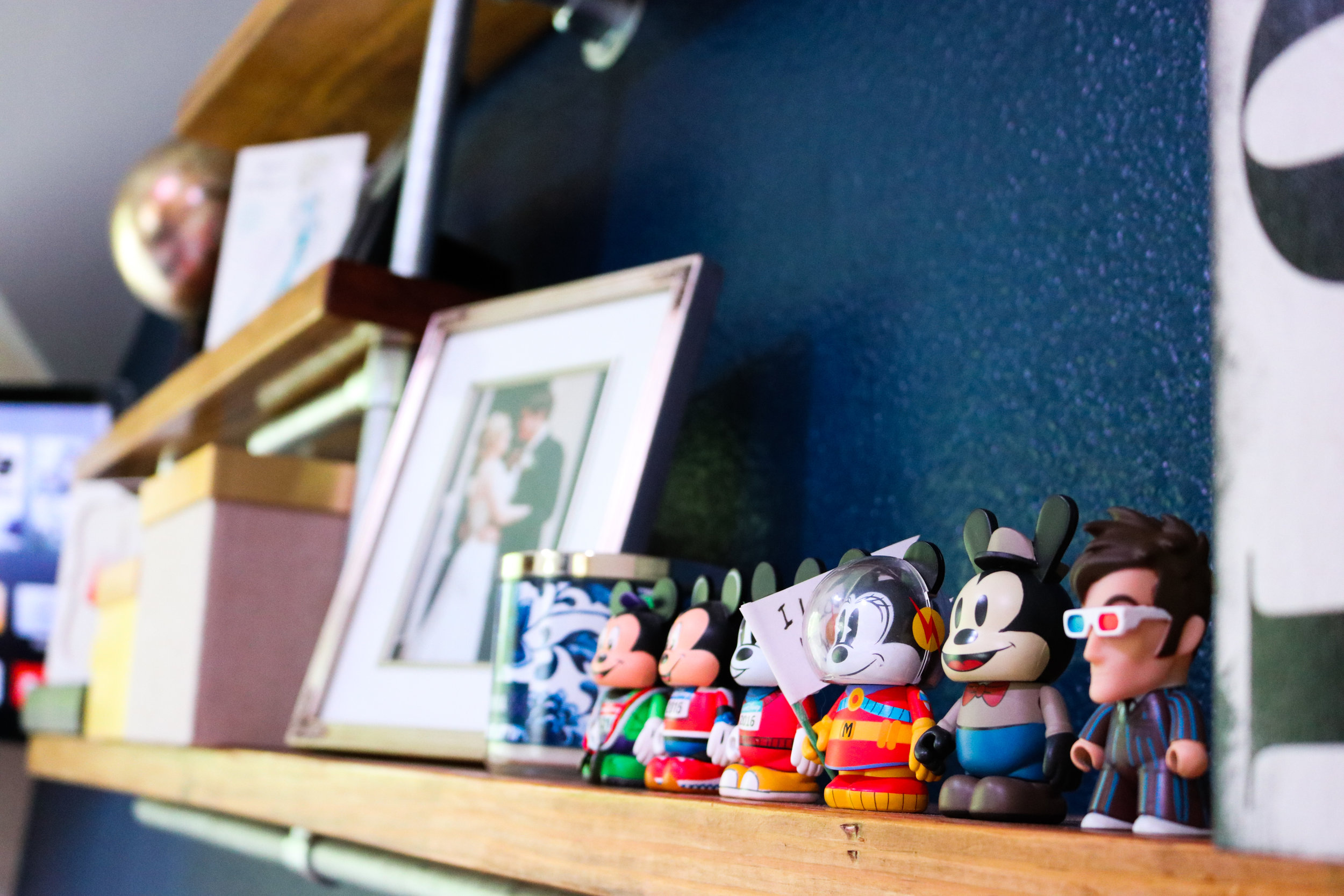 All my Mickey Vinylmations have a home now!
