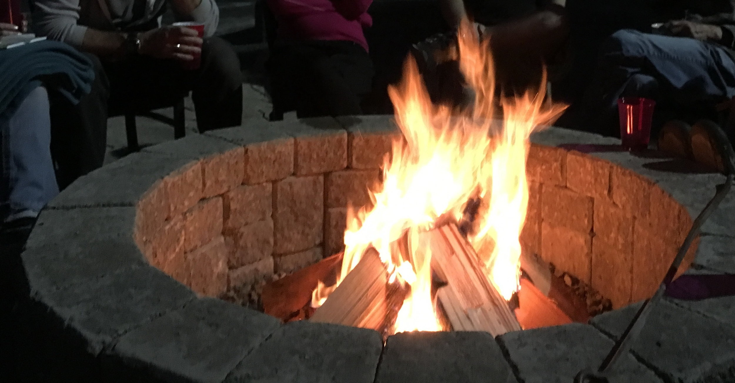 Fire Pit at night.JPG