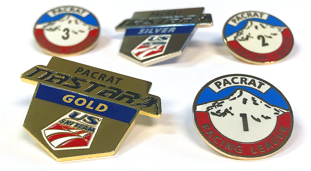 NASTAR & PACRAT PINS AWARDED THROUGHOUT THE SEASON