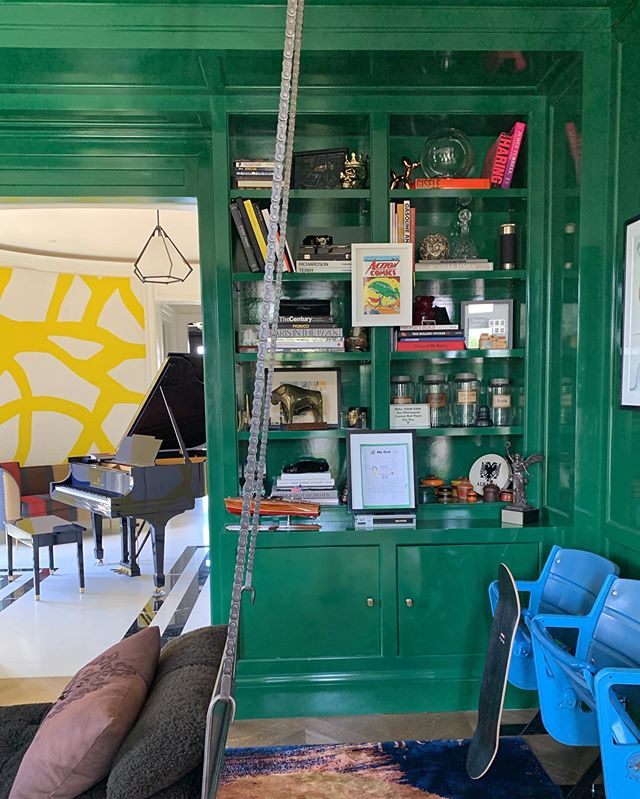 some rooms are just magical and this one keeps evolving into something more special #greenwithenvy #weloveourclients