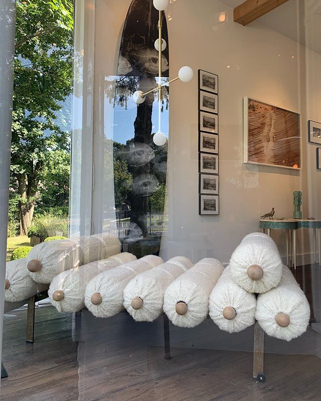 have you been out east and not popped into our gallery to see the magic in the little Sag Harbor spot filled with @mmariomilana @daisyjohnsonny @bzippy @brut.design @feyzdesignstudio @aresti @wendellcastlecollection @stevemillerdotcom and @campanabrothers ? The show is up through Labor Day!!! ♾♾♾♾♾ 112 Hampton Street in Sag Harbor!!