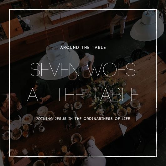 "Seven Woes at the Table | Luke 11:37-52 - Have you ever been in a social setting and realized you had been set up? Maybe that person your friends had been trying to get you to date was ""coincidentally"" there too, or you mention a certain topic only to realize someone there had been waiting for you to bring it up. Our seventh week exploring dinner scenes of Luke's Gospel—Luke's primary way of displaying Jesus' approach to evangelism—brings us to exactly that kind of setting, where Jesus once again springs one of the religious elite's traps only to turn the tables on them.One disclaimer here: Jesus' attitude in the majority of this text can come off to a casual reader as unexpectedly confrontational, or even rude. It's important to remember here that Luke's goal in presenting Jesus throughout his Gospel is to show him as someone who comforts the vulnerable and holds those to blame for injustice responsible for their actions.So, join us as we watch Jesus confront those he holds responsible for the suffering of those he loves."