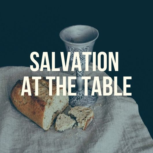 Salvation at the Table | Luke 22:7-20, 24-30 - Before the Resurrection, Jesus' ministry was marked by a distinct way that he would take something his audience thought they knew well enough and frame it in such a way that exposed just how little they actually understood about it. Even the things many Jews held close to their identity as God's Chosen people, he would take and throw upside-down; Passover was no exception to this upheaval, as the Disciples found out only a few hours before Jesus' arrest and murder at the hands of the Pharisees.Join us as we discover with them that to Jesus this meal was not simply a reminder of God's first redemption from the Egyptians but actually a symbol and predictor of their final redemption from Sin and Death