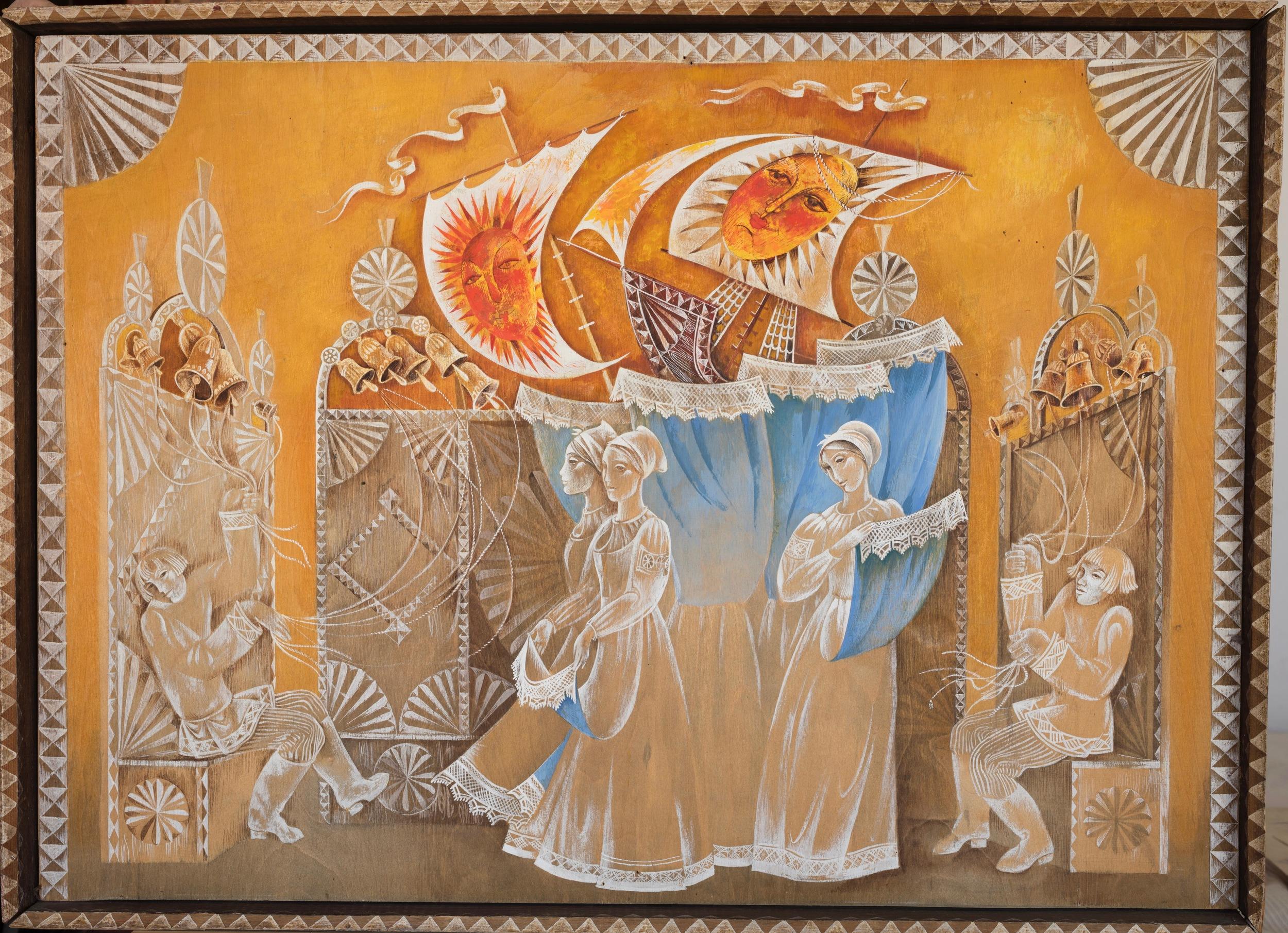 Tale of Tzar Saltan  Obrazcov Puppet Theatre. Moscow 1974