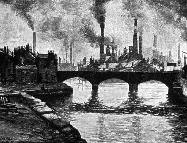 The industrial (energy) revolution.