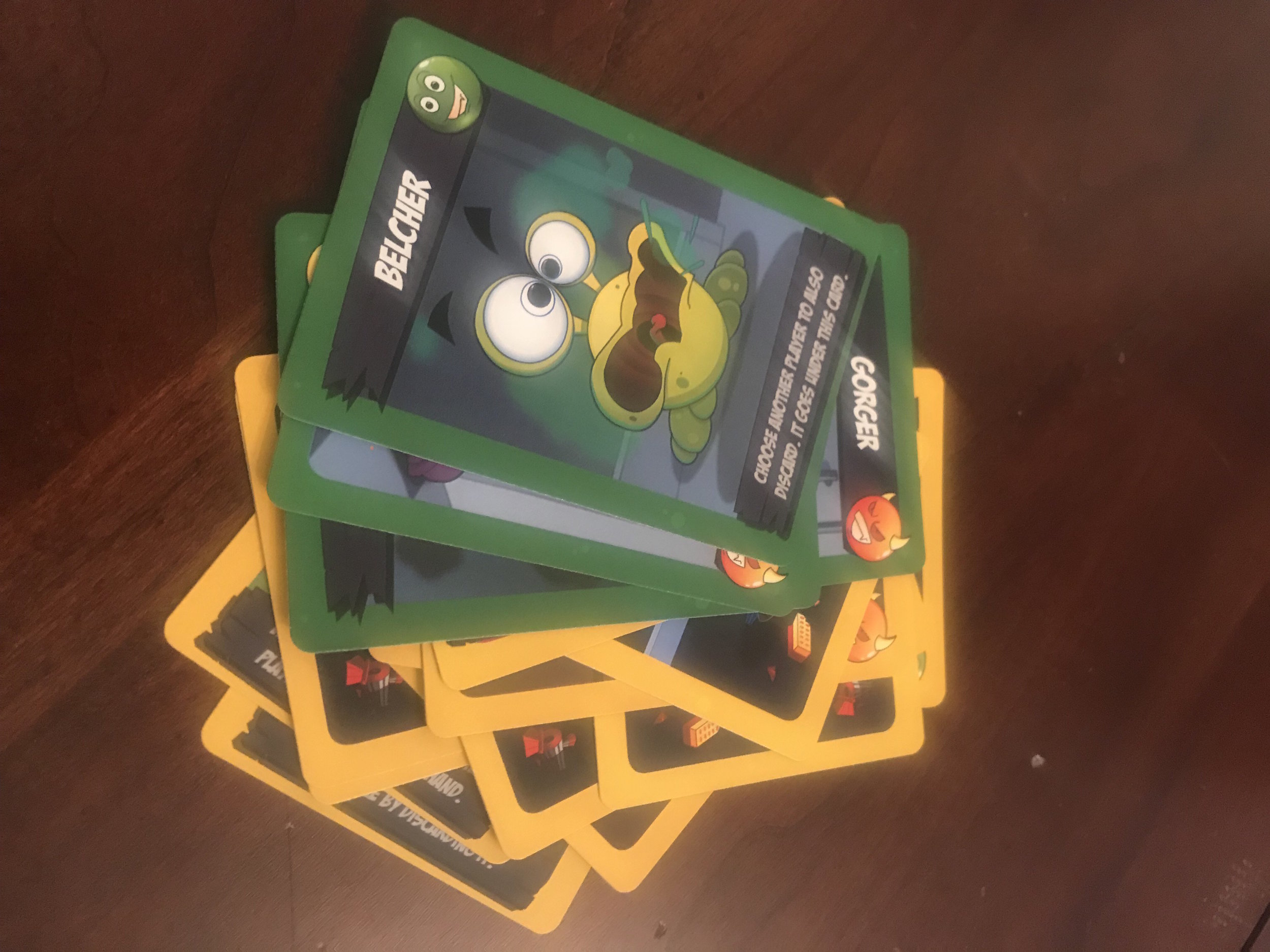 House Monsters cards