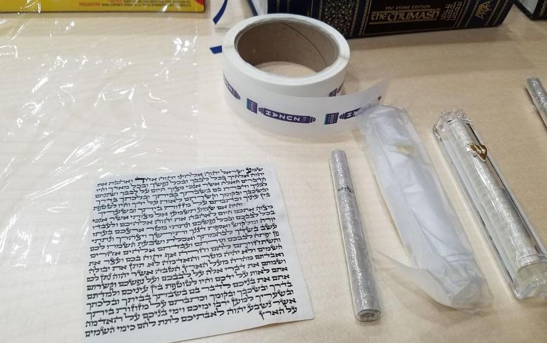 MyZuzah mezuzot use fair trade klaf (parchment) that meets the highest standards of accuracy written by a certified sofer (scribe) and audited by a trained checker (magiah).