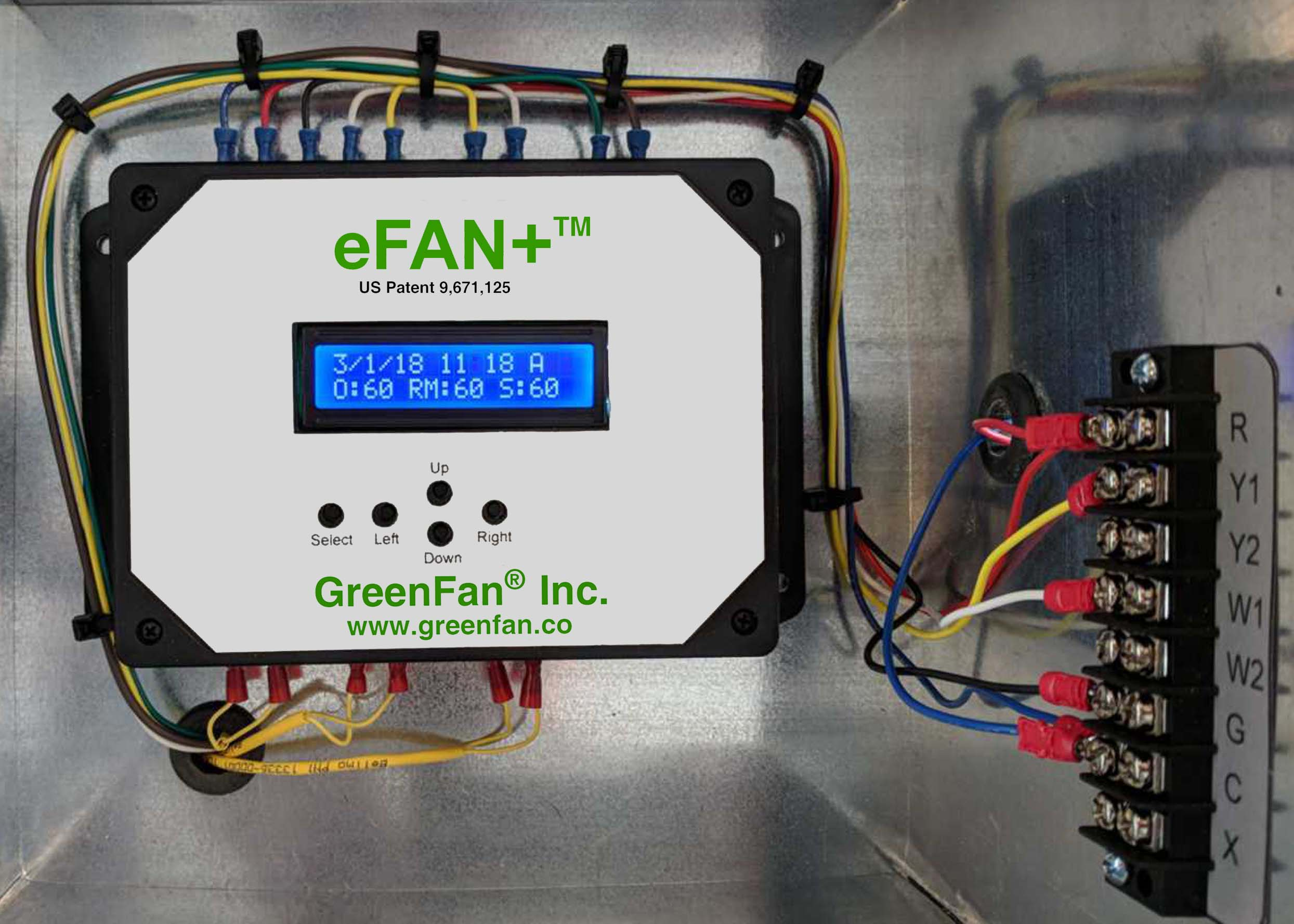 eFAN+™ Advanced Economizer Controller - Provides Advanced Fault Detection Diagnostics and saves 14 to 30% on cooling and heating energy use