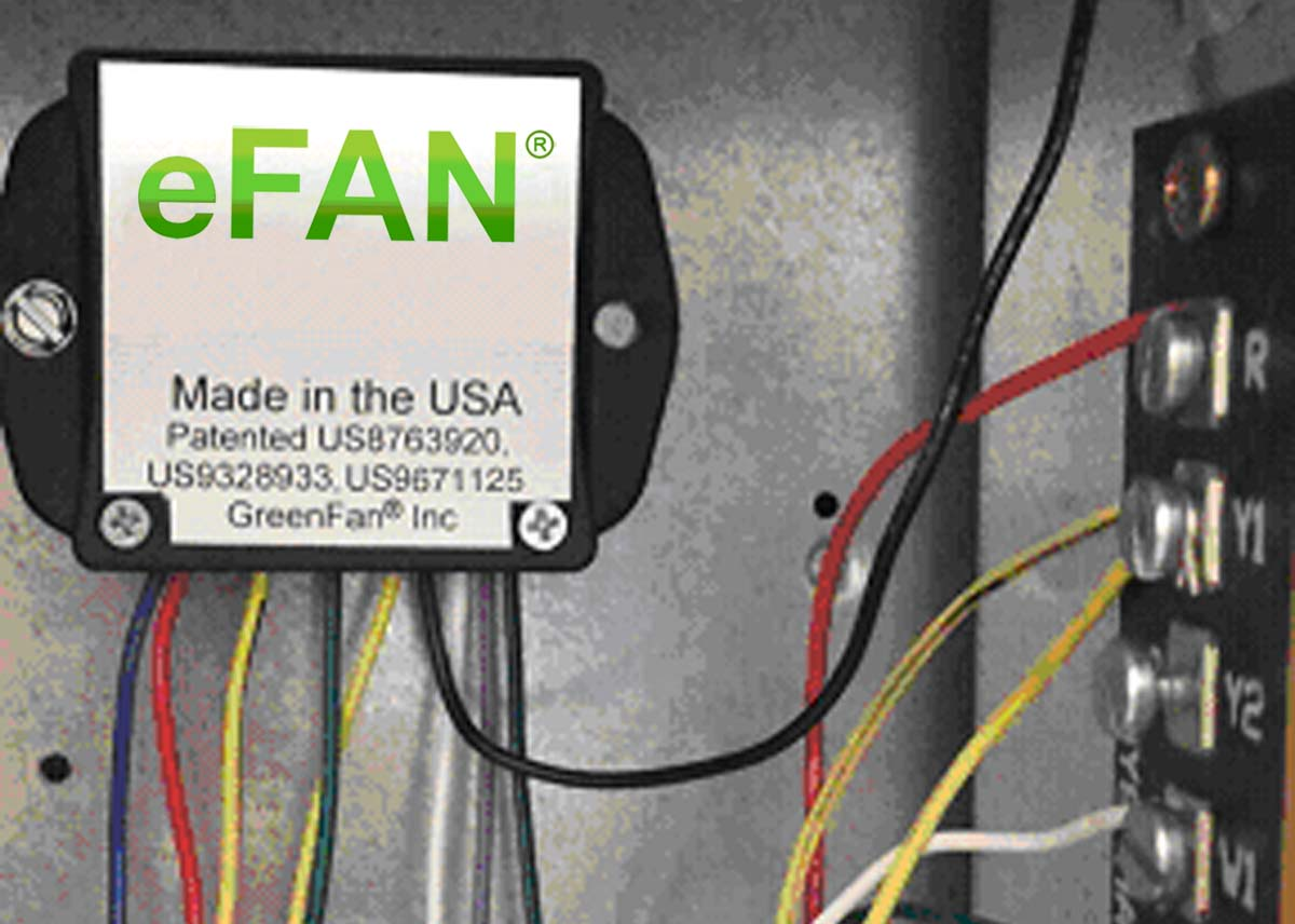 eFAN® Economizer Fan Controller - AFDD supply fan control saves energy, improves thermal comfort and energy efficiency and saves 9 to 27% on cooling and heating energy use