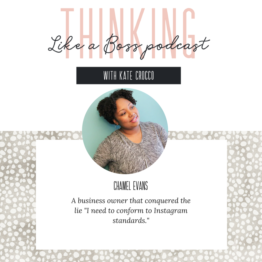 Chamel Evans is a faith mentor, encourager, and designer for Christian creatives. Her brand fuses Biblical truth with creative application to empower Christian women to live out their truest authentic selves, love and influence those in their circle with grace, break free from mental roadblocks, and chase their callings with fire through faith-infused mentoring, strategy/design, and actionable resources.