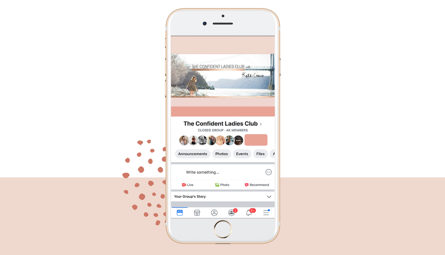 Confident Ladies Club Community - Facebook community to connect with other women in business and share your offerings