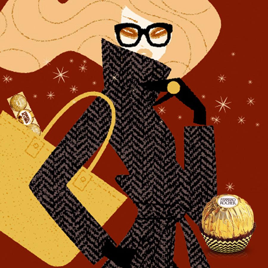 Ferrero Rocher Holiday Social Campaign