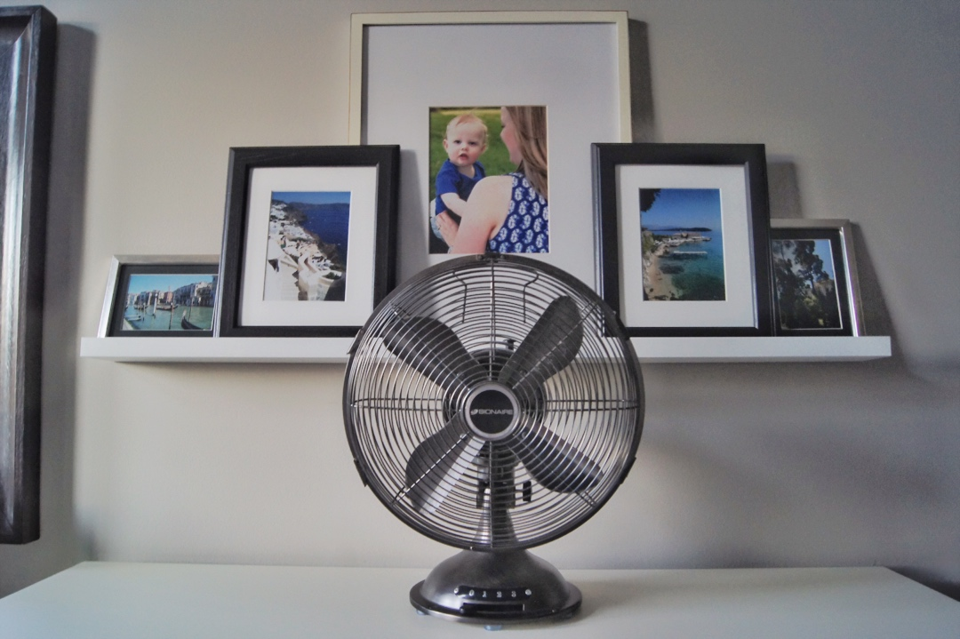 DIY Picture Ledge Gallery Wall