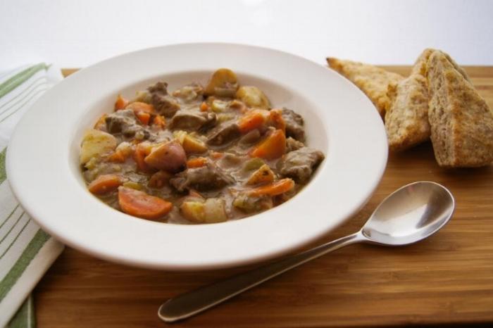 Irish Beef Stew in the Instant Pot