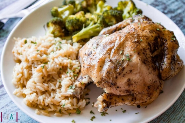 Slow Cooker Cornish Game Hen