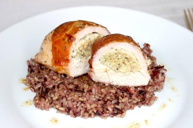 Florentine Stuffed Chicken