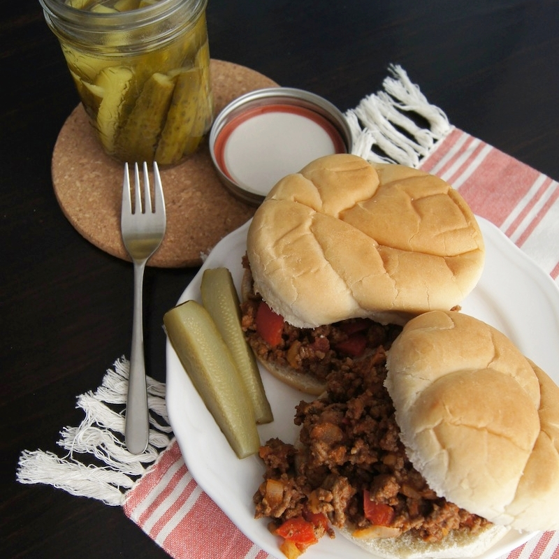 Easy Homemade Sloppy Joes