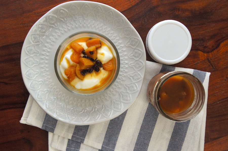 Apricot Currant Compote in the Instant Pot