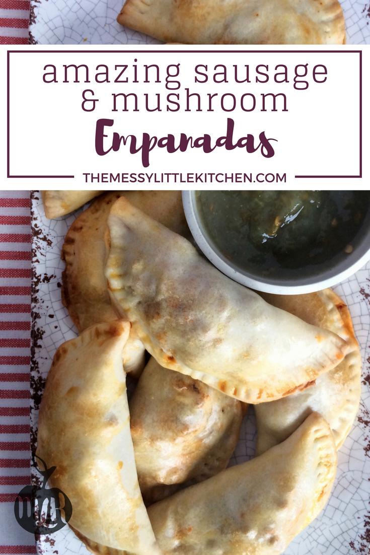 Amazing Sausage and Mushroom Empanada Appetizer Recipe