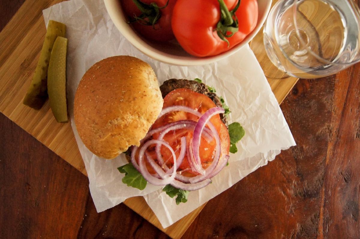 Beef Kofta Burger