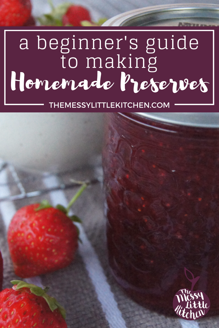A Beginners Guide to Making Homemade Preserves!Summer is in full swing, which means that finally there is an abundance of fresh fruits and vegetables available at the local farmer's markets! And there's no better way to get a taste of summer in the middle of winter than to preserve your own produce.Wondering how to make a real fruit, no cook or some simple preserves for beginners? Jams, jellies, pickles and chutneys .. what's the difference? And what's involved for the new cook? Come find out more, plus three of our favourite recipes, and a handful of awesome Preserving Resources!
