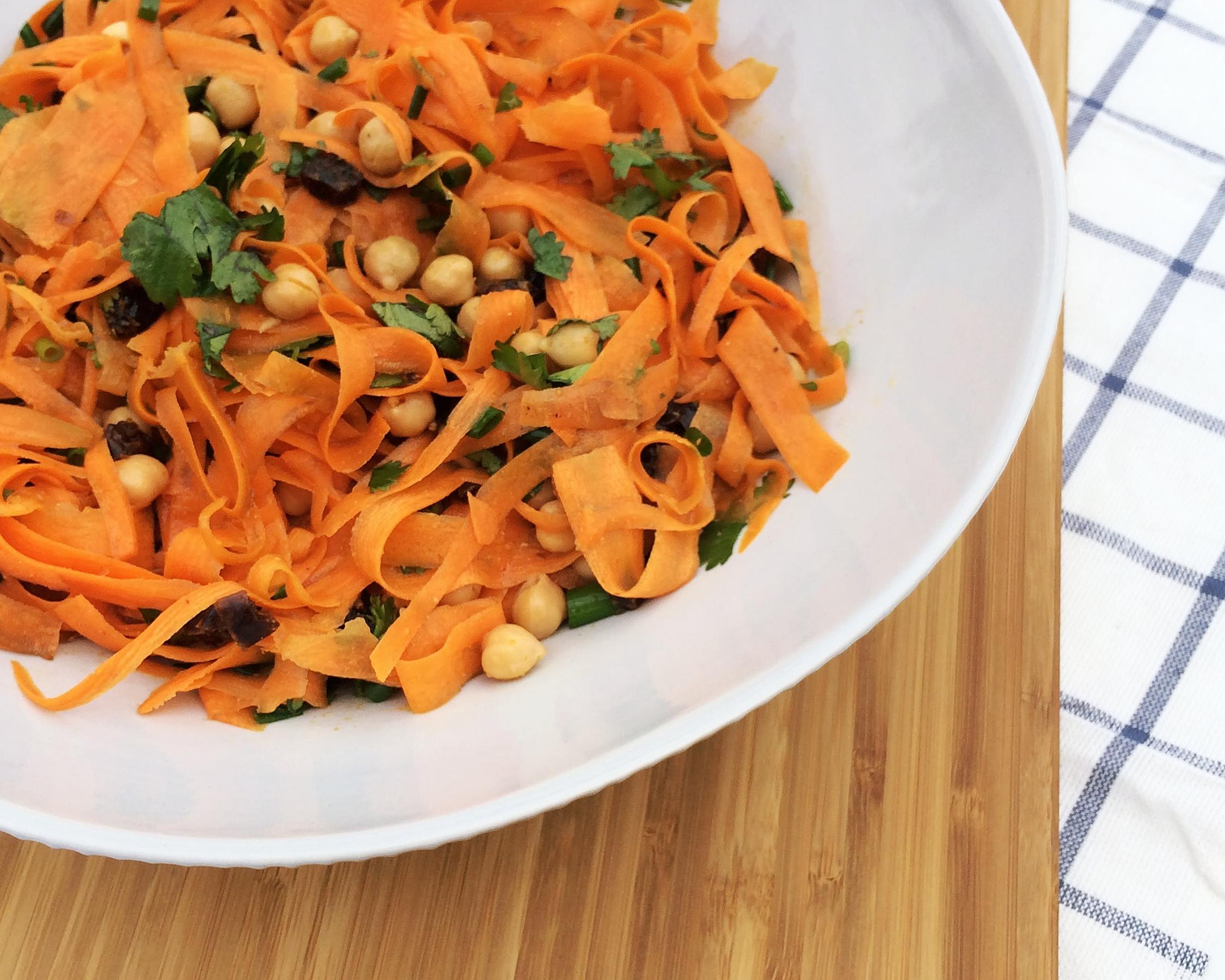 Morrocan Carrot Salad