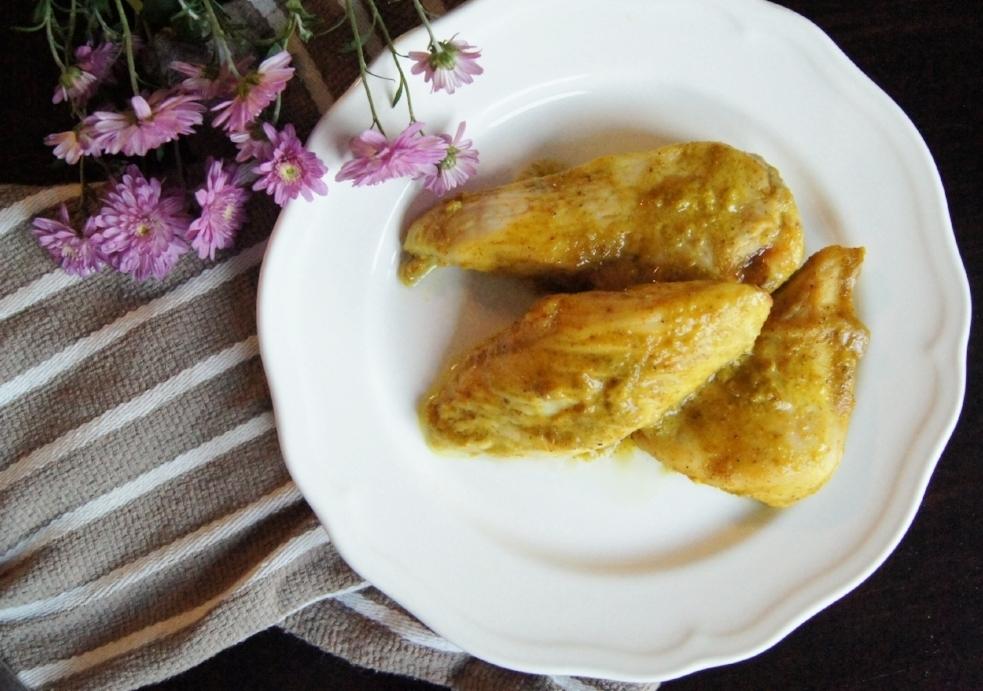 Honey Mustard Curried Chicken Recipe