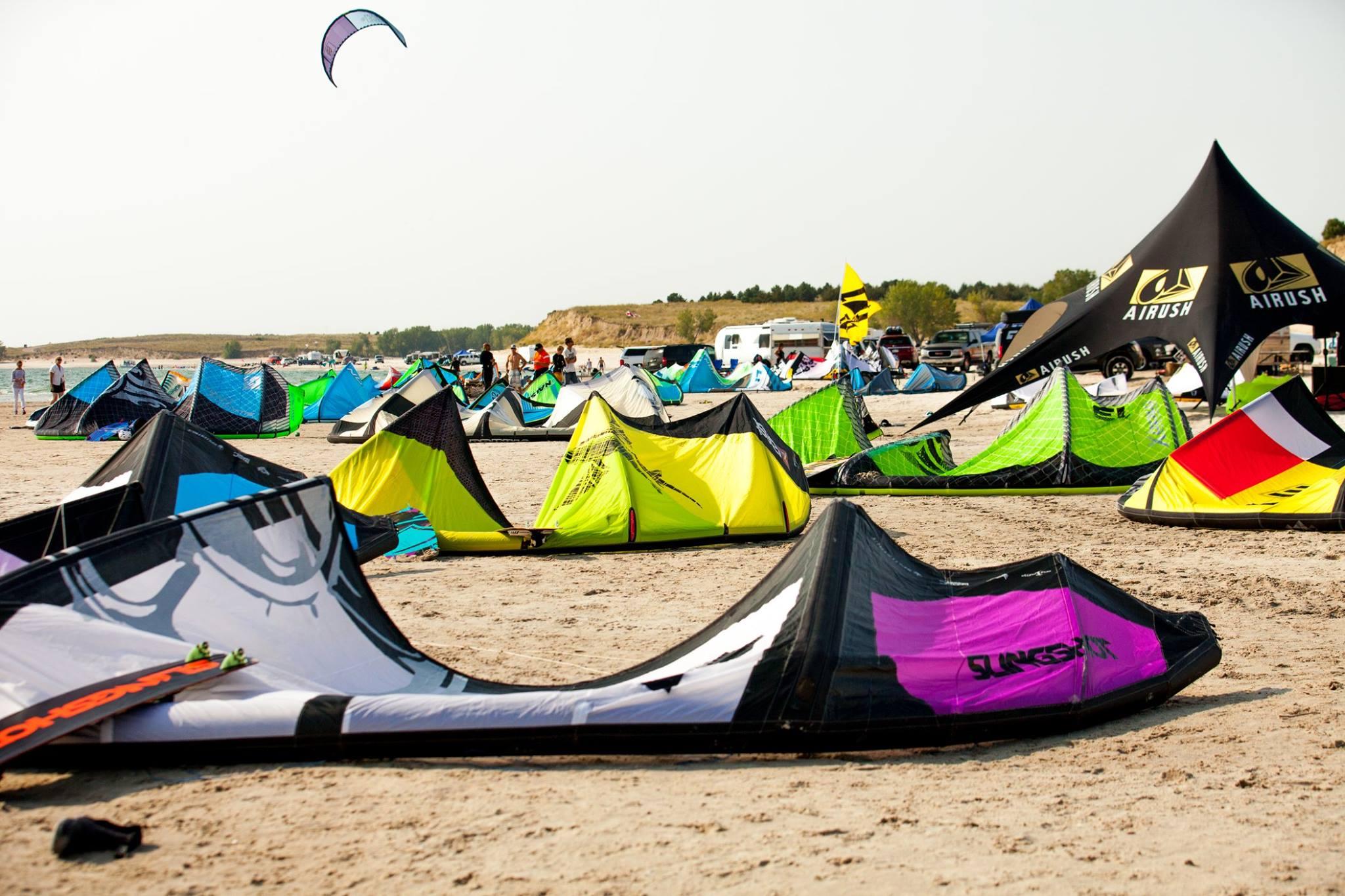 Try Kite Boarding at Lake McConaughy Nebraska