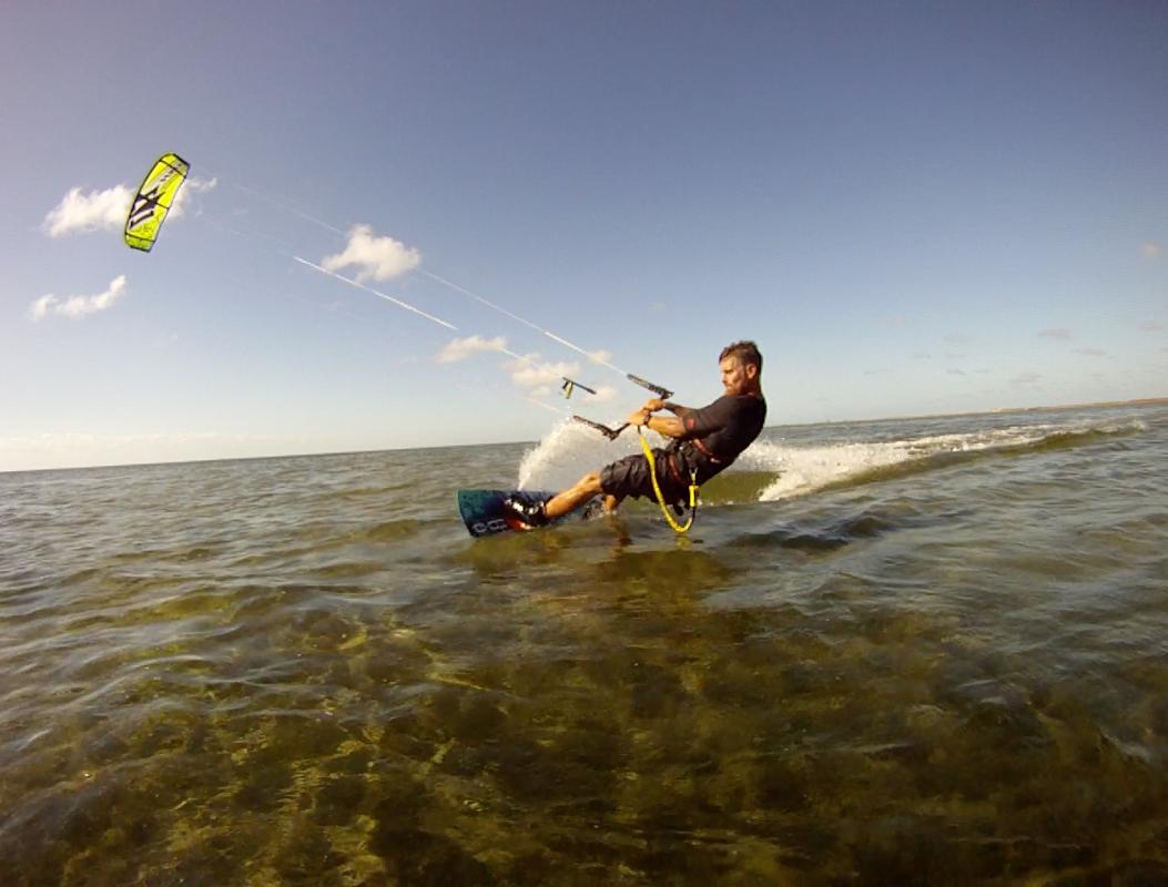 Try Kite Boarding the Flats.  South Padre Island Texa s