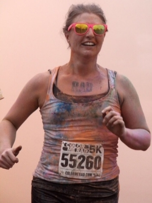 - TCC Pain-management Coach and TCCU Coach Trainer, Alice, in her first 5k after going through TCC's program.