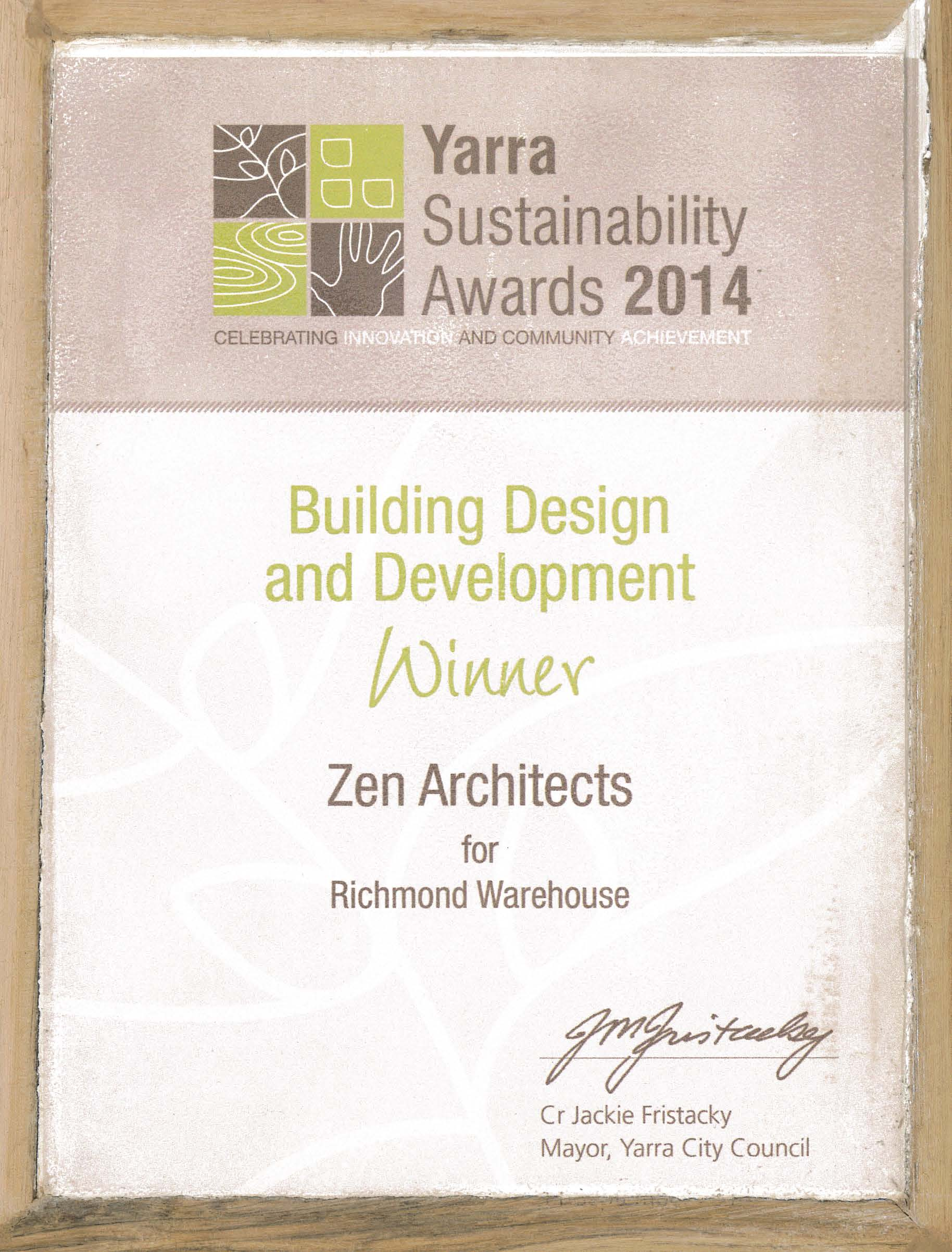 2014_Yarra Sustainability Awards_Winner_Building Design & Development_Richmond Warehouse.jpg
