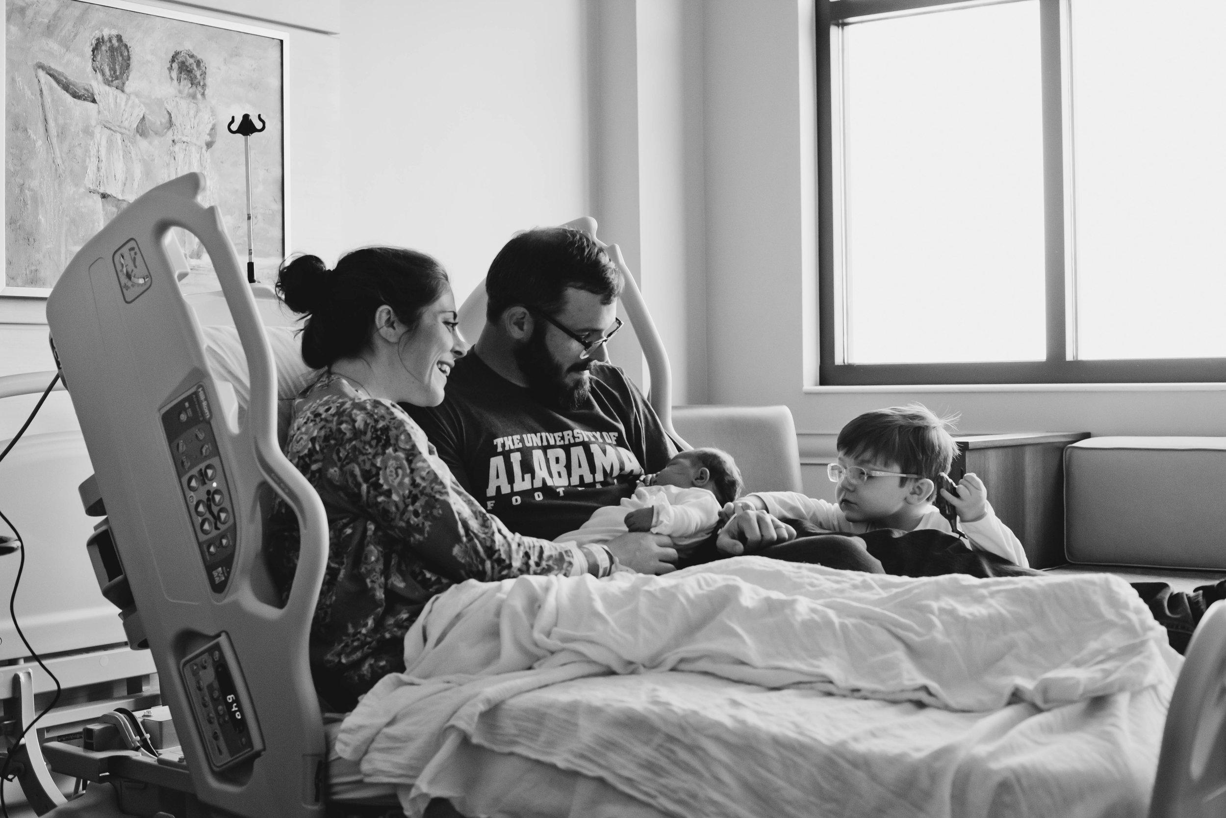 Family Fresh 48 Session at Thomas Hospital in Fairhope, Alabama