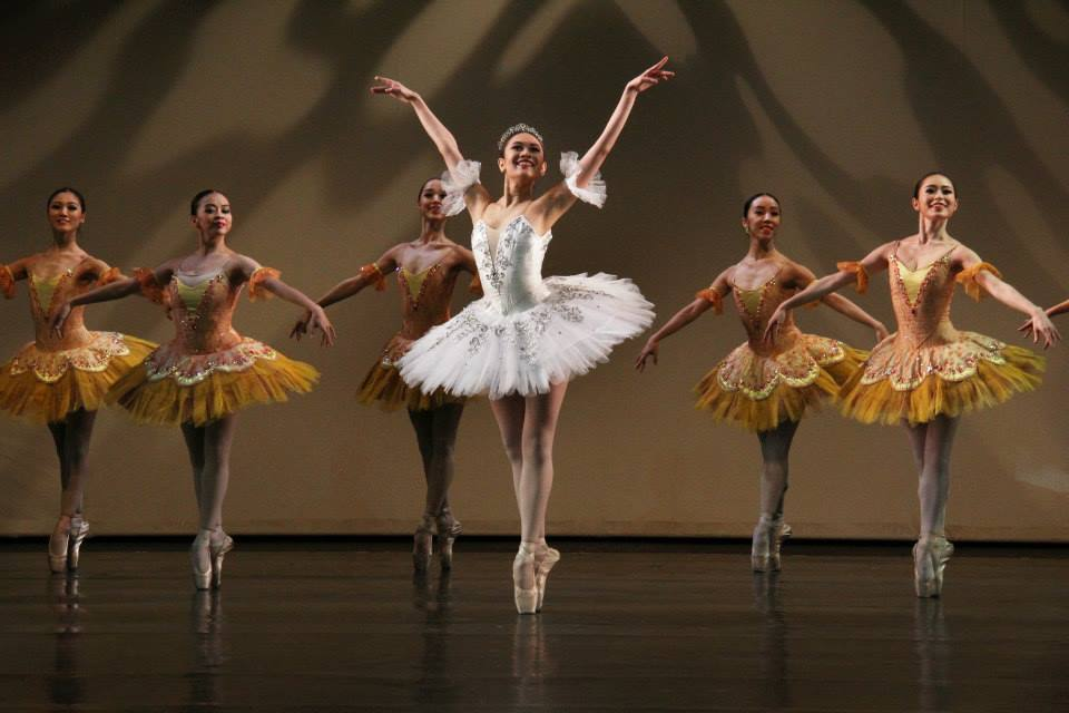 Abigail Oliveiro takes centerstage in    Paquita,    featured in    BM 2.0    in 2015. Photo by David Steven Trinidad