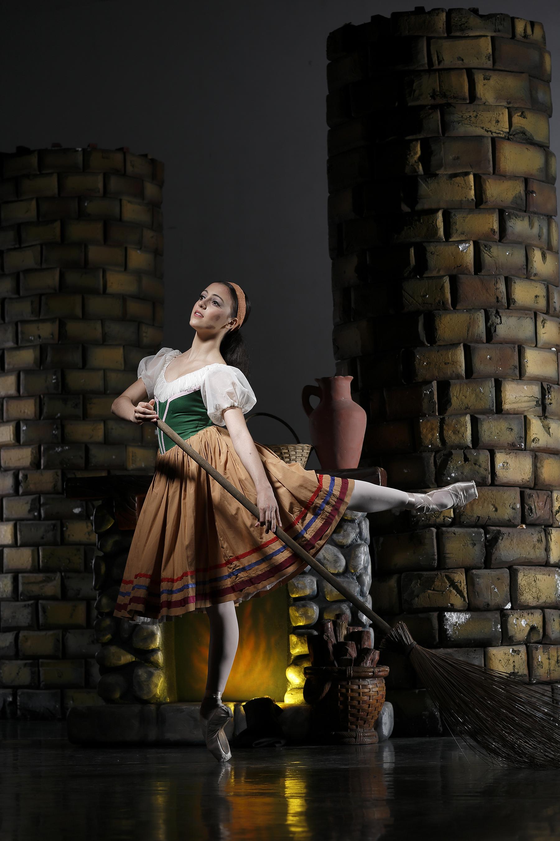 Katherine Barkman steps into Cinderella's shoes in Ballet Manila's next production.