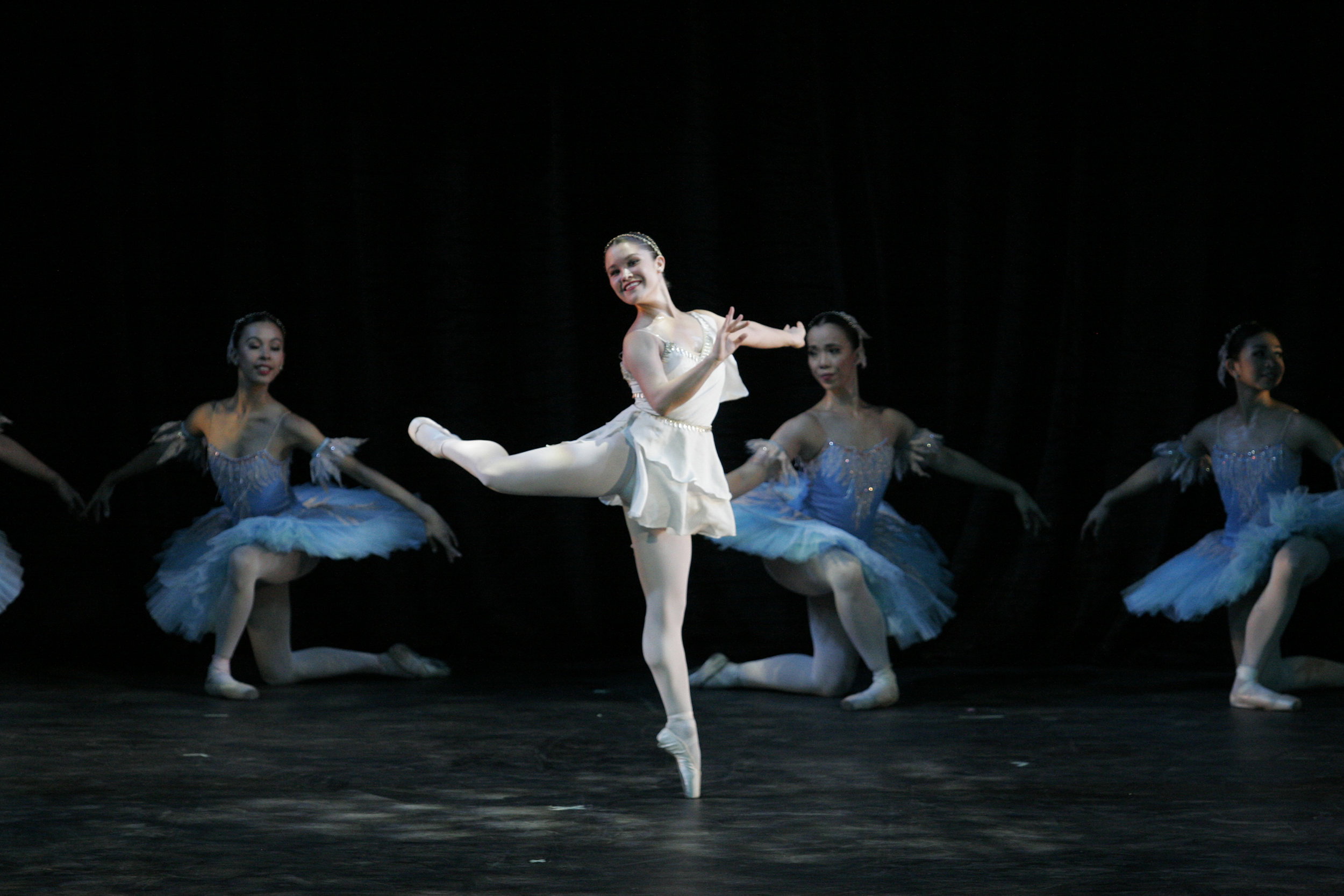 Upon joining Ballet Manila in 2009, Tiffany immediately found herself dancing a solo in Don Quixote. Photo by Ocs Alvarez