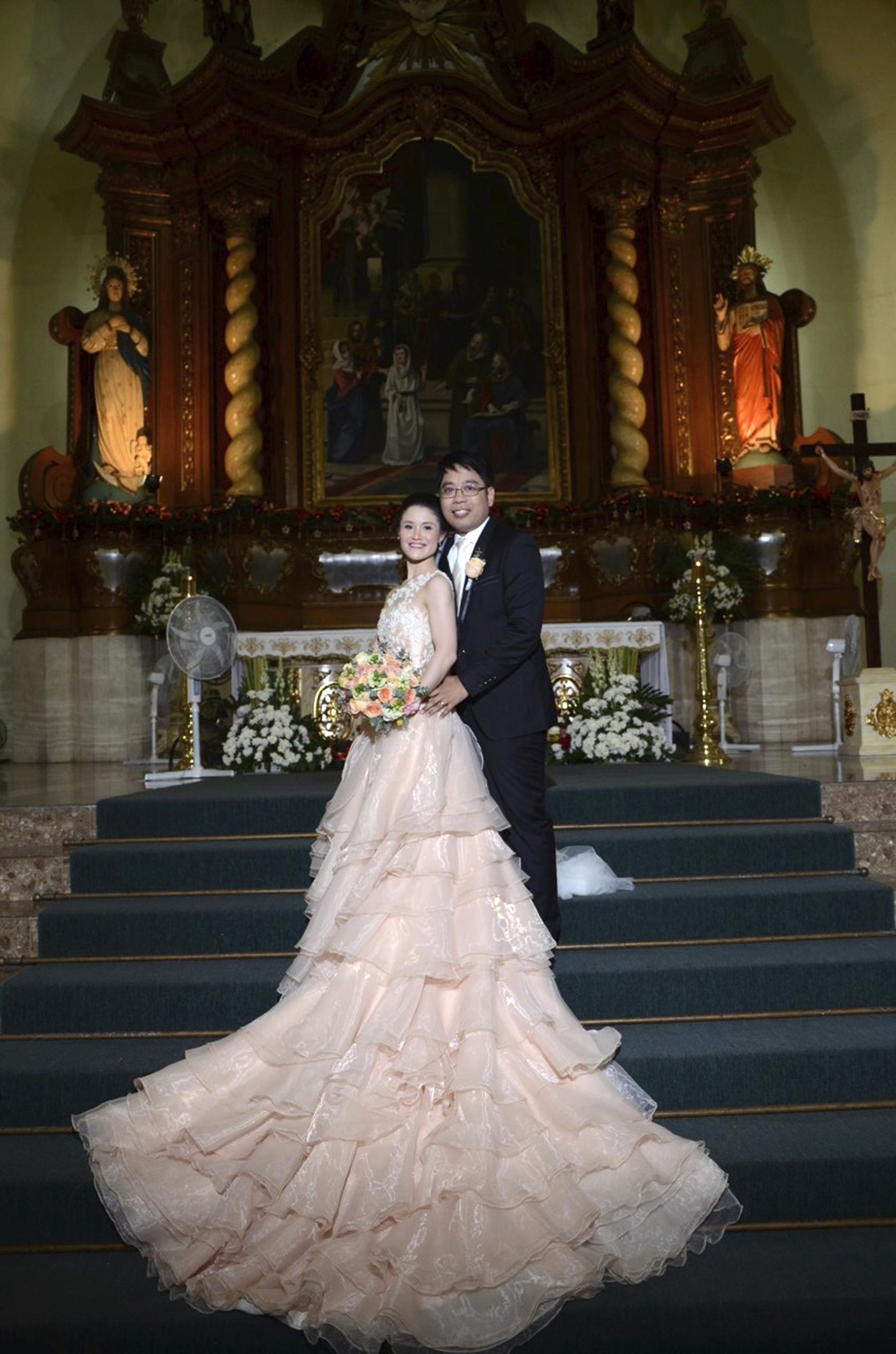 Apart from a dancing career, Tiffany also found her Prince Charming – Jonathan Janolo – in the Philippines. Photo provided by Jonathan Janolo