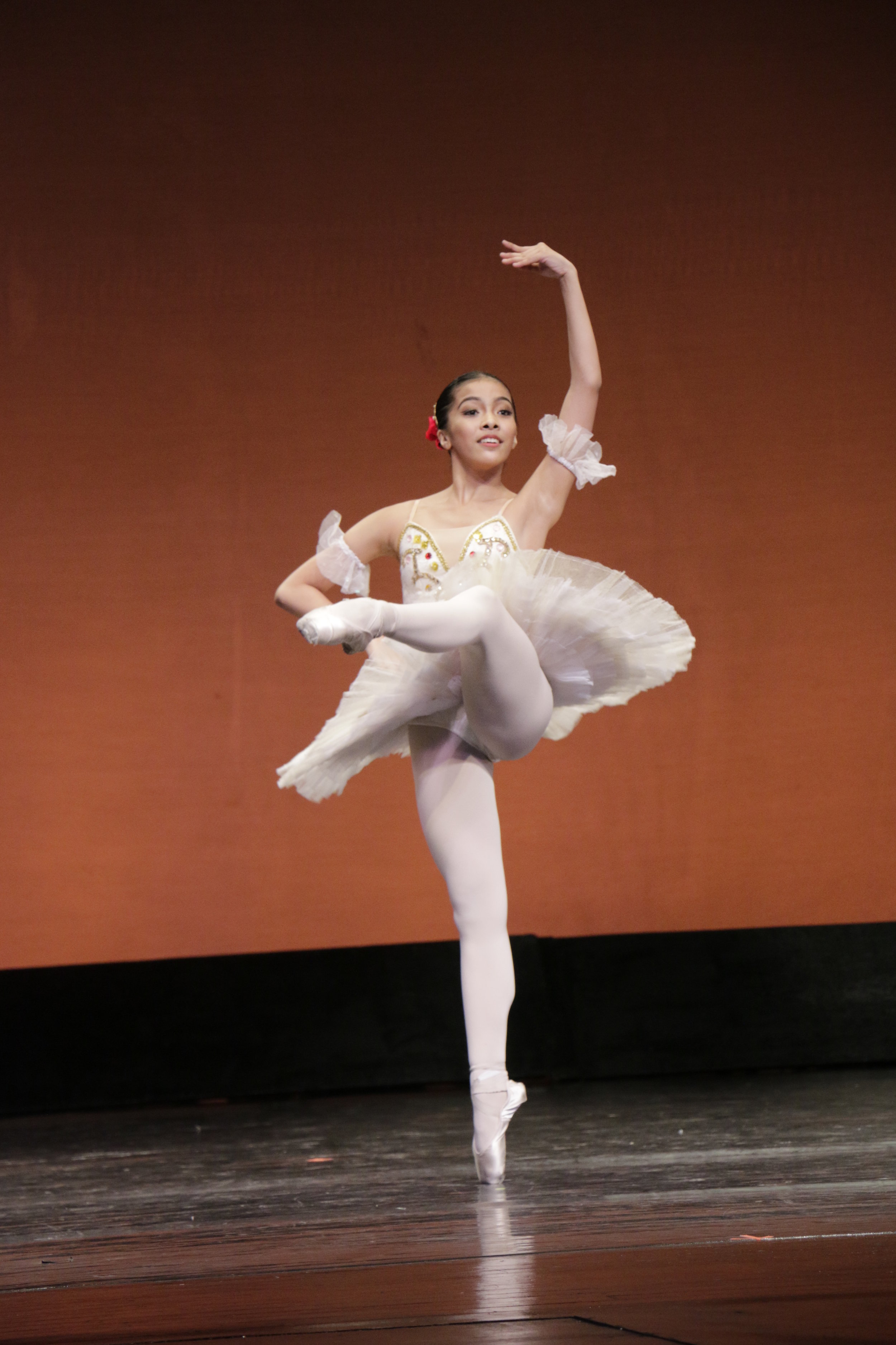 Nicole Barroso performs the First Variation from Pas de Trois, Act 1, of    Paquita   . Photo by Kiko Cabuena/ CCP