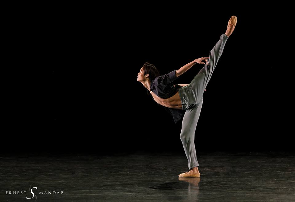 ance has been a constant in Godwin Merano's life, from his boyhood in Quezon to his teenage years in Canada and now with Ballet Manila. Photo by Ernest Mandap
