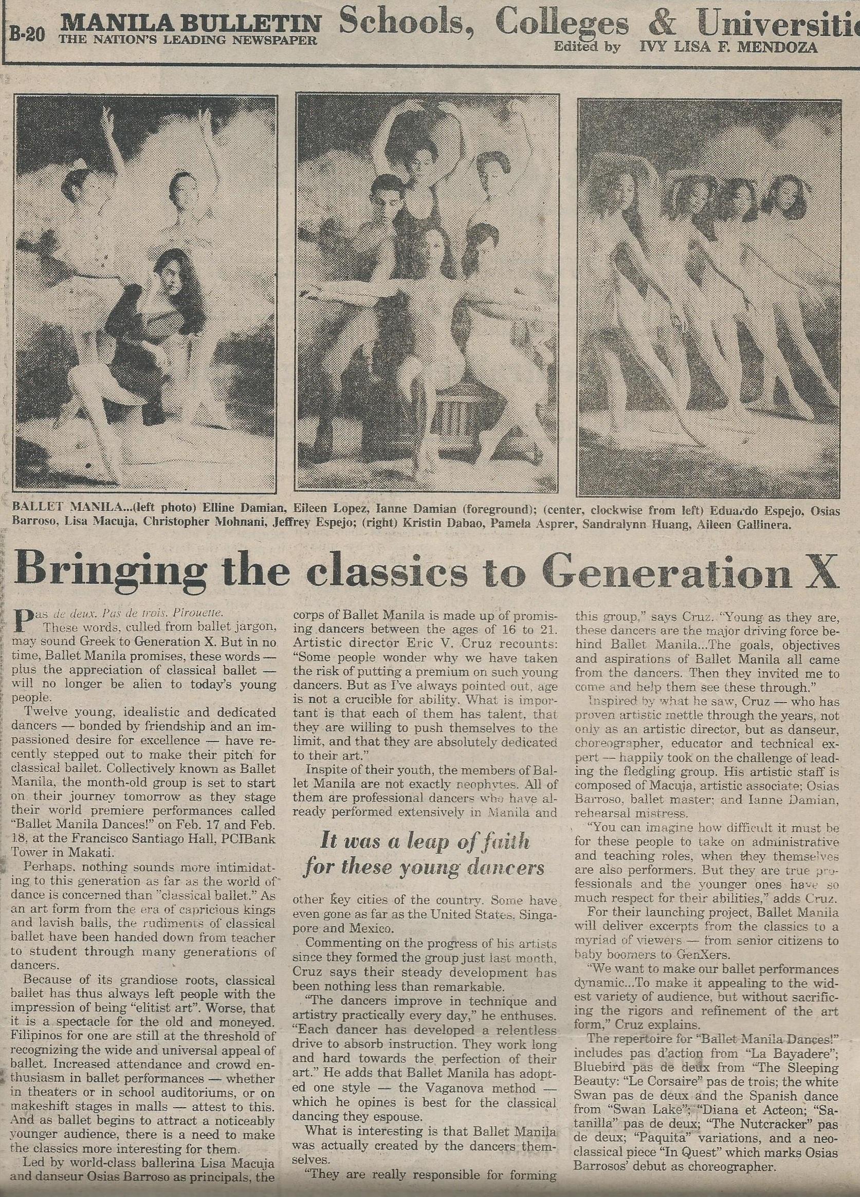 Bringing the classics to Generation X