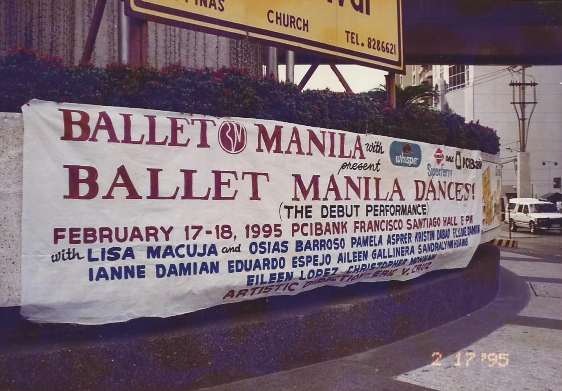 Announcing Ballet Manila