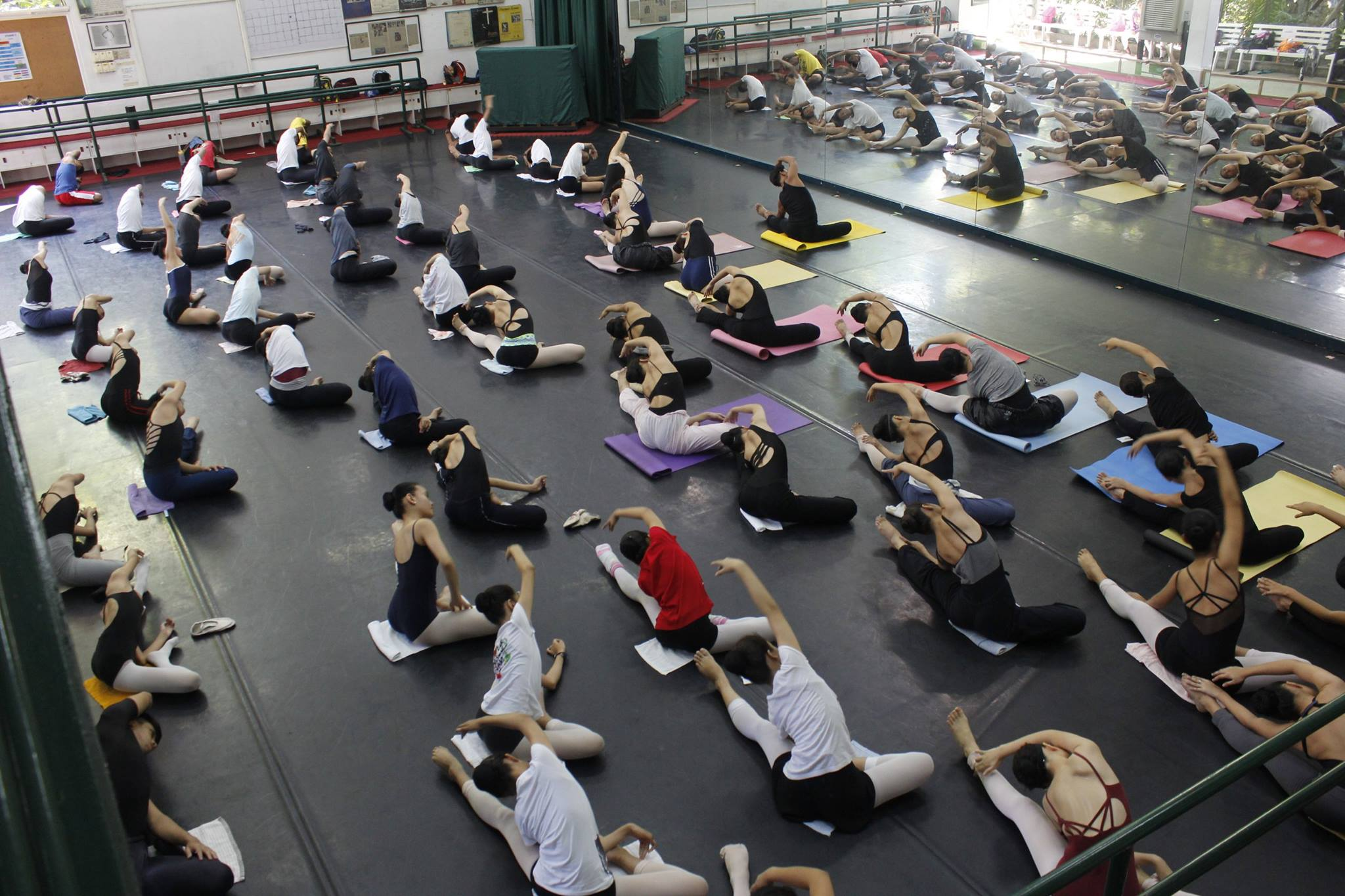 Ballet enthusiasts will have a chance to take sample classes during Ballet Manila's open house. Photo by Jimmy Villanueva