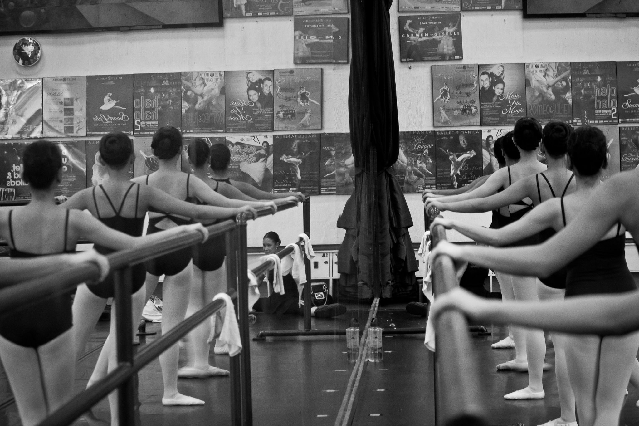 Classical ballet classes follow the Russian Vaganova method which Ballet Manila and its school are known for. Photo by Gerardo Francisco