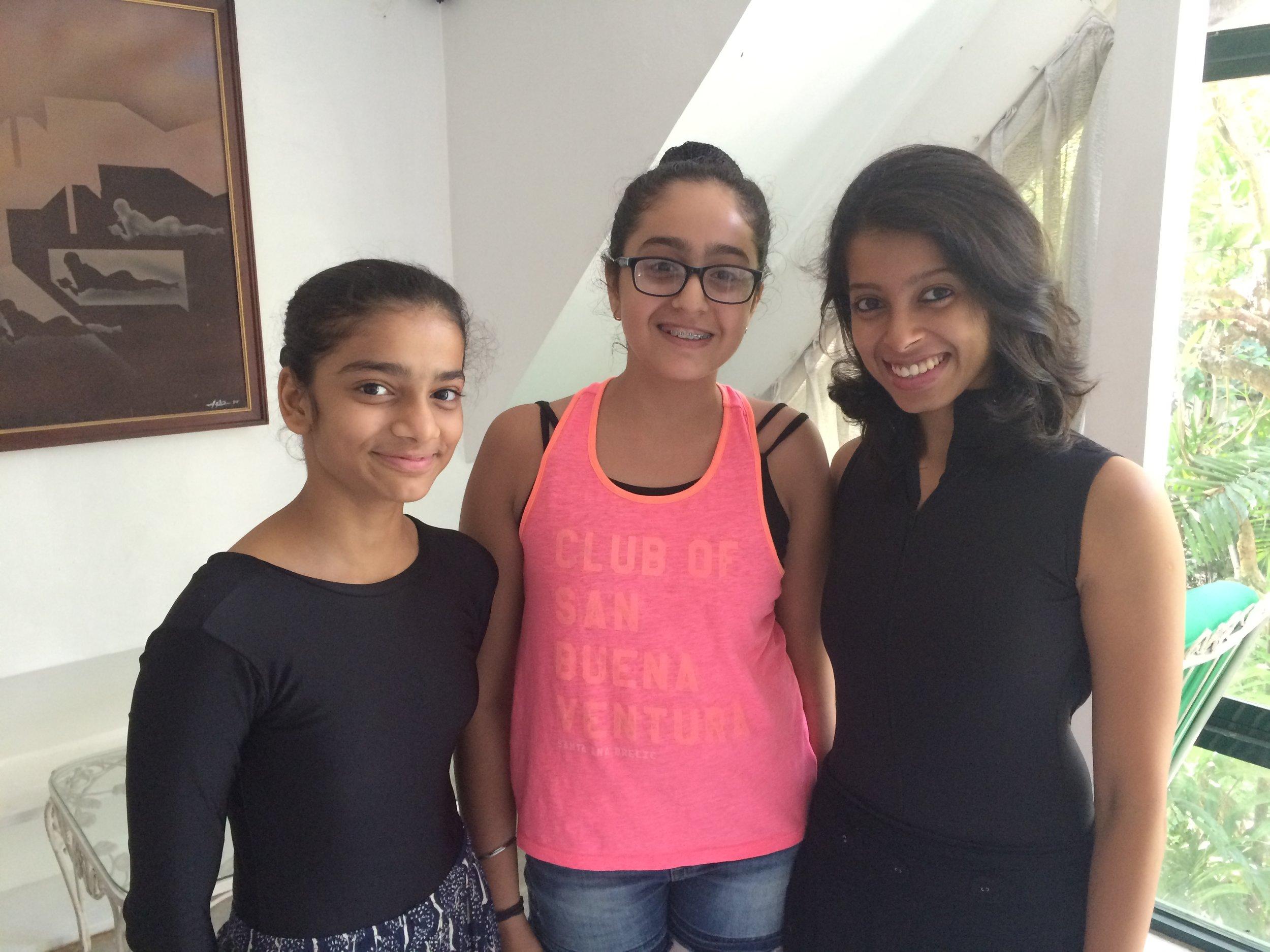Deepika Ravindran is in Manila with two students from her Rhythmus Happy Feet school in Mumbai, Krisha Shah and Eesha Karnani.