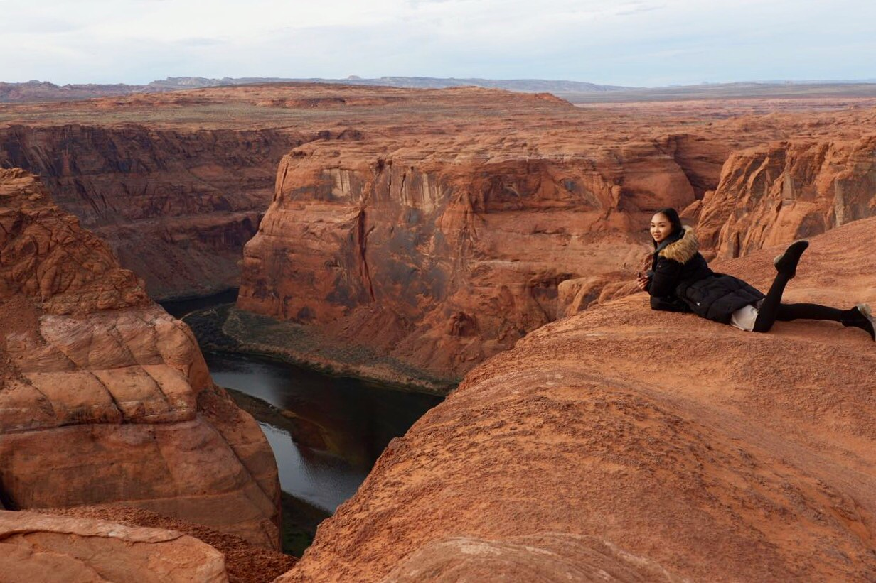 Breathtaking view at Horseshoe Bend