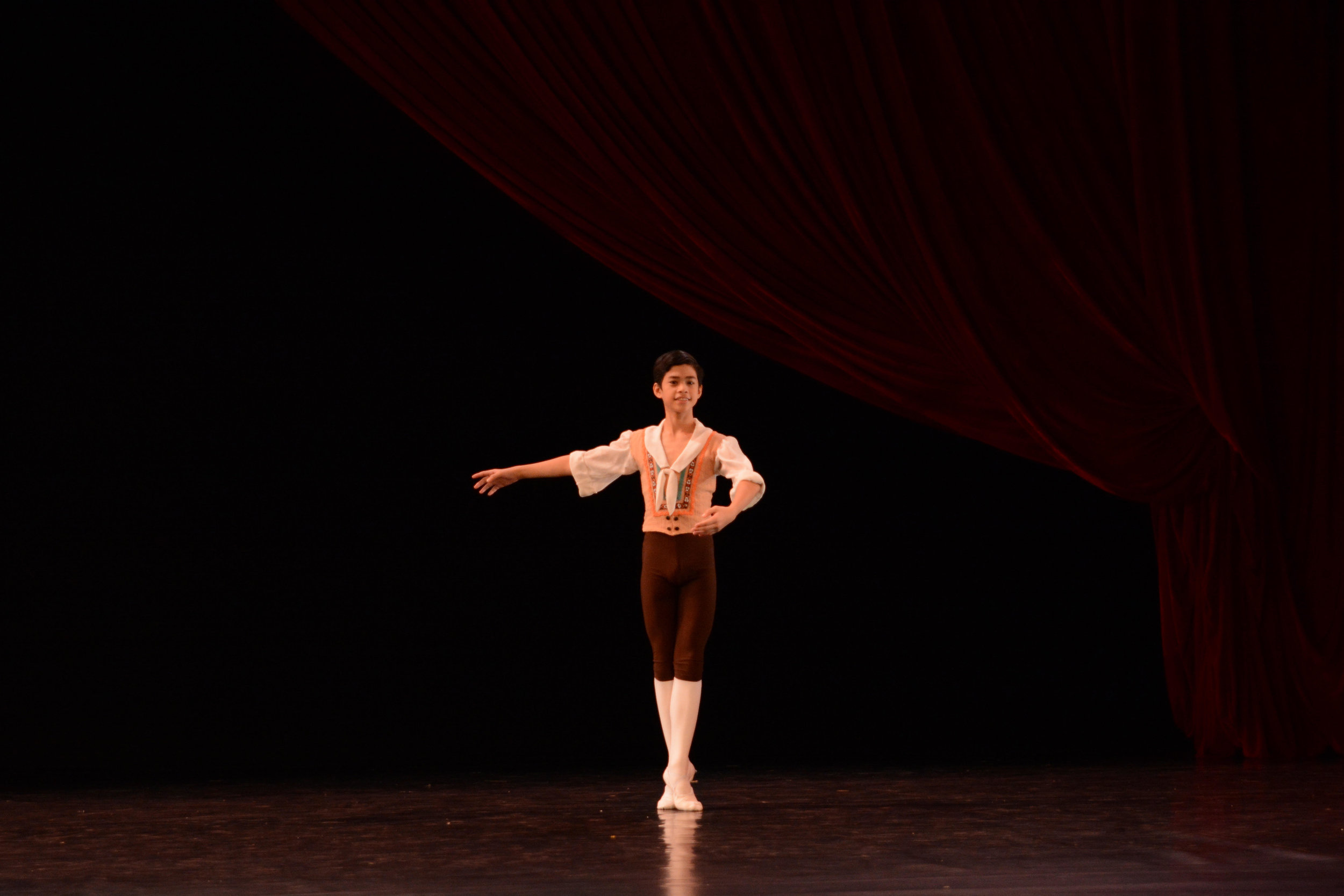 Jos David Andes, Finalist, Junior A: Franz Variation. Photo by MarBi Photography
