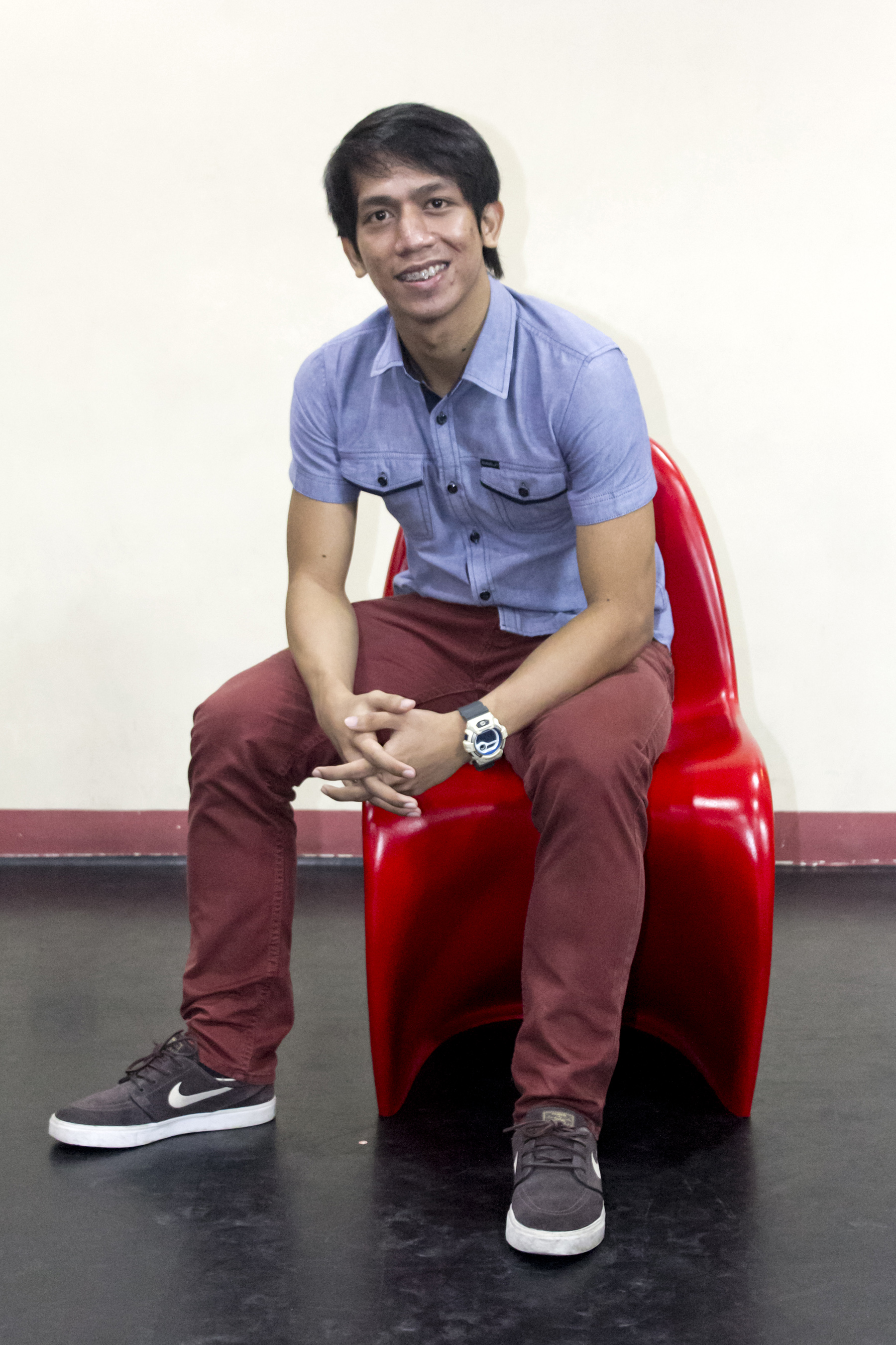 Rudolph Capongcol says laziness has no place in ballet. Photo by Jimmy Villanueva