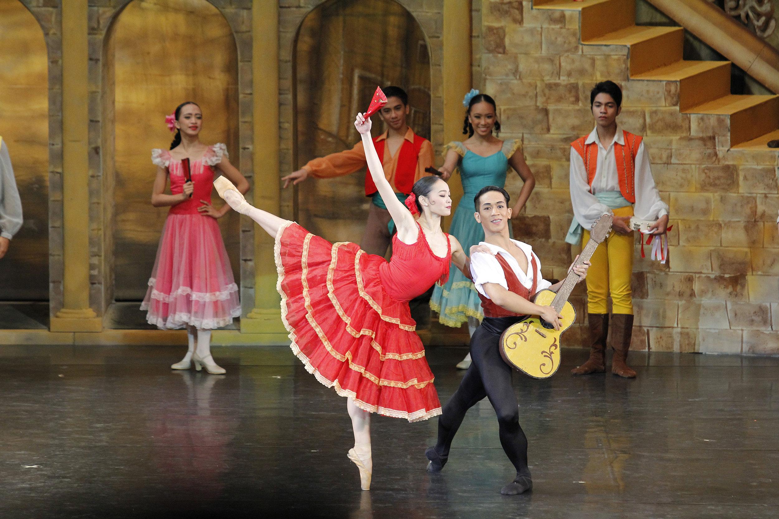 Rudolph fulfilled his long-time dream role when he danced as Basilio in Ballet Manila's    Don Quixote . Photo by Ocs Alvarez