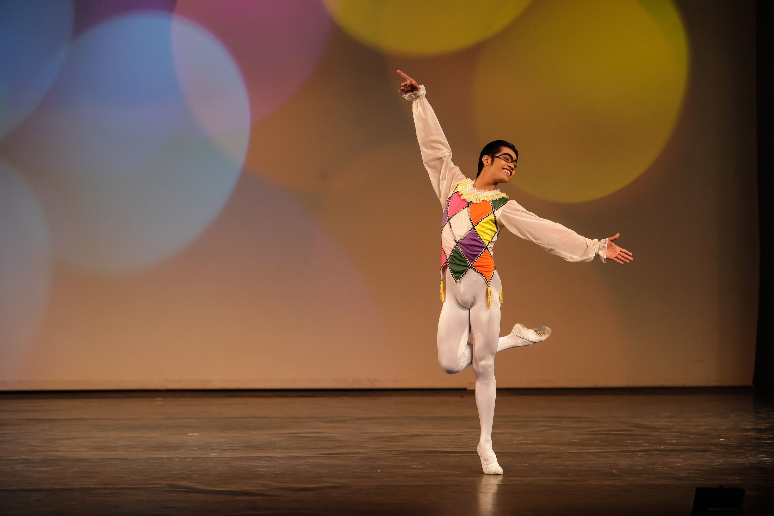 Harlequinade  is one of the many classical ballet pieces that Elmoe has come to enjoy performing. Photo by Jojo Mamangun