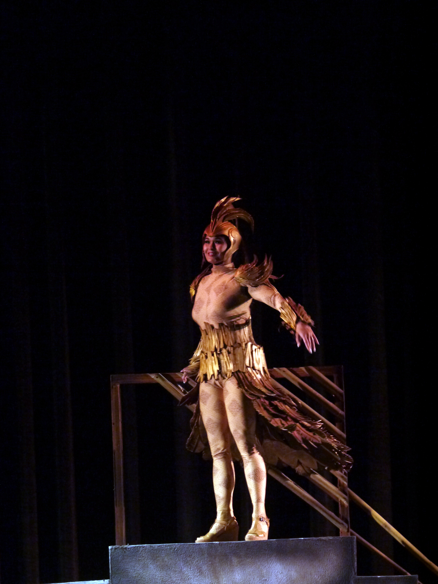 For her role as the Singing Adarna, Gia goes back to her classical roots. Photo by Giselle Kasilag